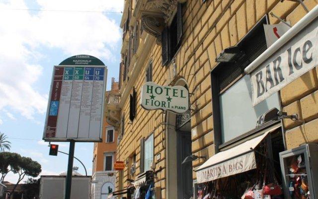Отель Fiori вид на фасад