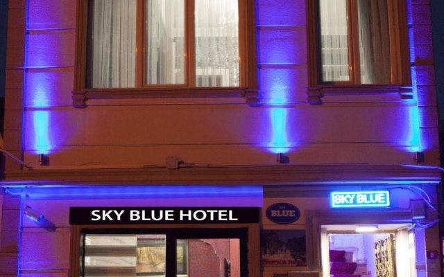 Sky Blue Hotel Турция, Стамбул - отзывы, цены и фото номеров - забронировать отель Sky Blue Hotel онлайн вид на фасад