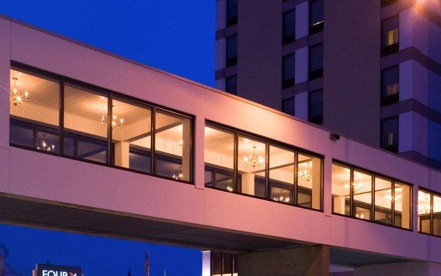 Отель Four Points by Sheraton Bangor США, Бангор - отзывы, цены и фото номеров - забронировать отель Four Points by Sheraton Bangor онлайн вид на фасад