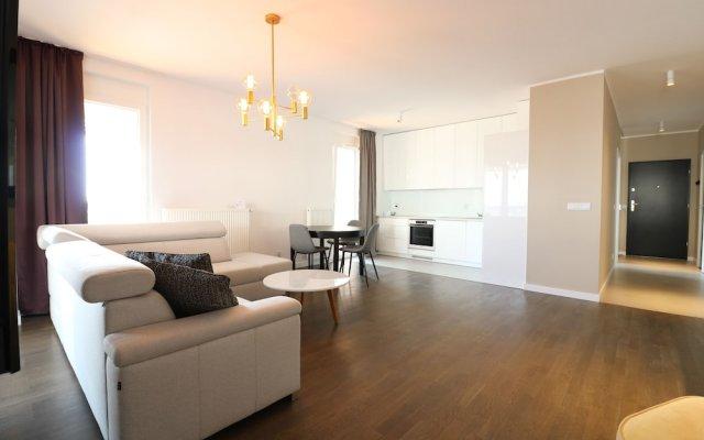 Отель apartamenty-wroc Atal Towers Вроцлав комната для гостей