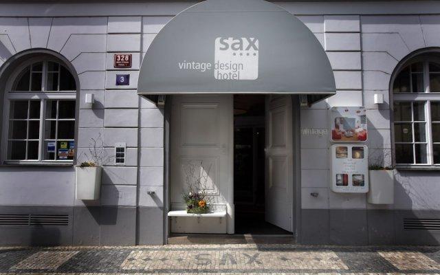 Отель Vintage Design Hotel Sax Чехия, Прага - отзывы, цены и фото номеров - забронировать отель Vintage Design Hotel Sax онлайн вид на фасад