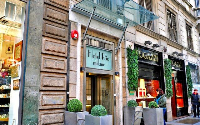 Hotel Rio Милан вид на фасад