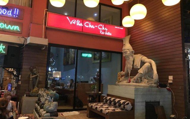 Отель Villa Cha Cha Rambuttri Бангкок вид на фасад