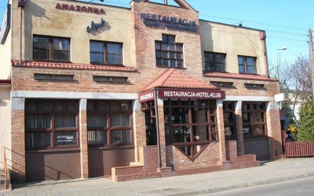 Hotel Amazonka Гданьск вид на фасад