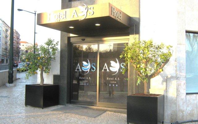 Hotel AS Lisboa вид на фасад