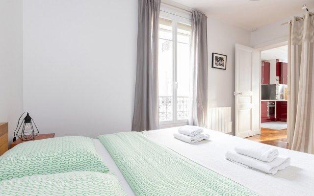 Апартаменты Bastille - Ledru Rollin Apartment комната для гостей