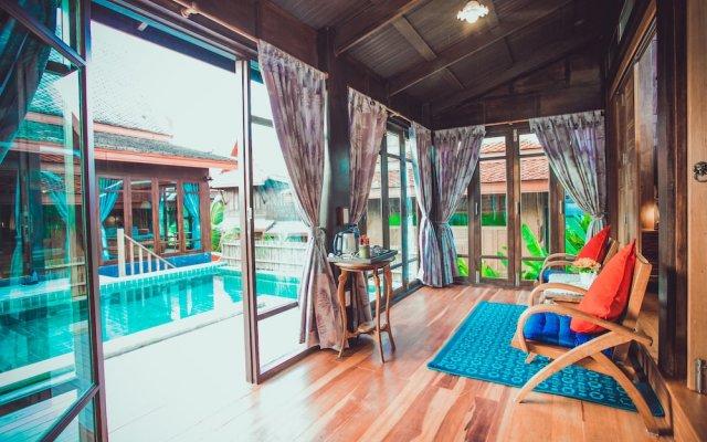 Отель Sasitara Thai villas Таиланд, Самуи - отзывы, цены и фото номеров - забронировать отель Sasitara Thai villas онлайн вид на фасад