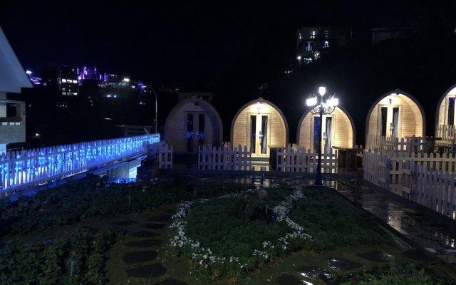 Отель The Hobbit Bungalow Далат вид на фасад