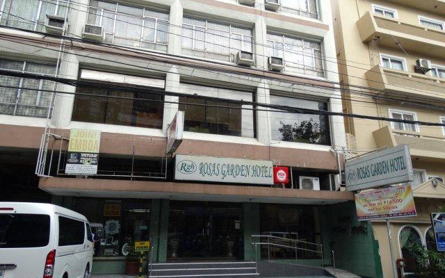 Отель Rosas Garden Hotel Филиппины, Манила - отзывы, цены и фото номеров - забронировать отель Rosas Garden Hotel онлайн вид на фасад