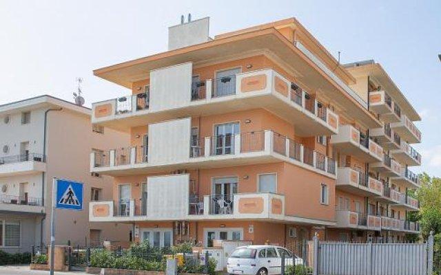 Отель Residence Maryel Италия, Римини - отзывы, цены и фото номеров - забронировать отель Residence Maryel онлайн вид на фасад