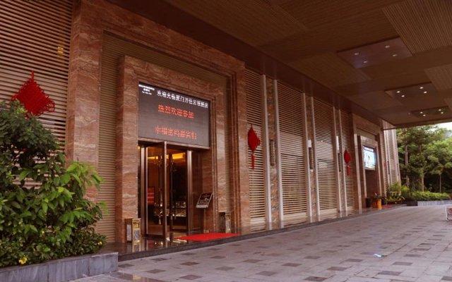 Отель Xiamen Wanjia Yunding Hotel Китай, Сямынь - отзывы, цены и фото номеров - забронировать отель Xiamen Wanjia Yunding Hotel онлайн вид на фасад