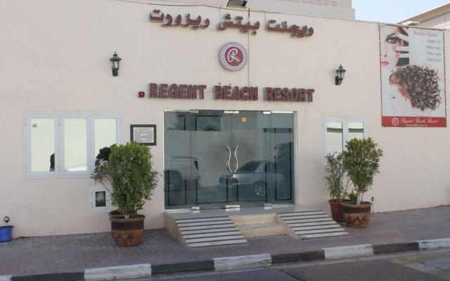 Отель Regent Beach Resort ОАЭ, Дубай - 10 отзывов об отеле, цены и фото номеров - забронировать отель Regent Beach Resort онлайн вид на фасад