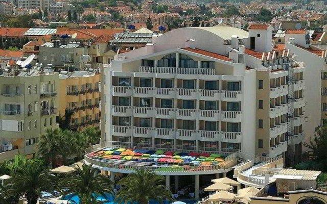 Отель Club Nergis Beach Мармарис вид на фасад