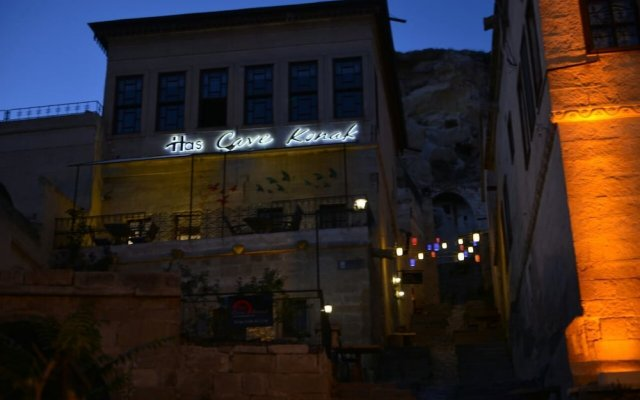 Отель Has Cave Konak Ургуп вид на фасад