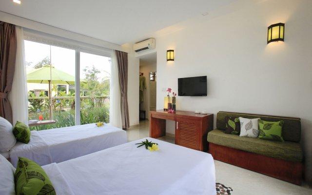 Отель Green Boutique Villa Вьетнам, Хойан - отзывы, цены и фото номеров - забронировать отель Green Boutique Villa онлайн комната для гостей