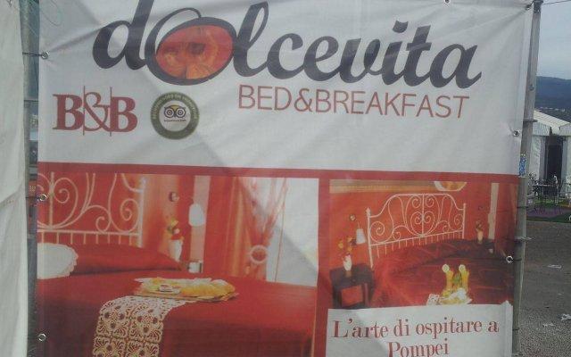 Отель B&B Dolcevita Италия, Помпеи - отзывы, цены и фото номеров - забронировать отель B&B Dolcevita онлайн вид на фасад