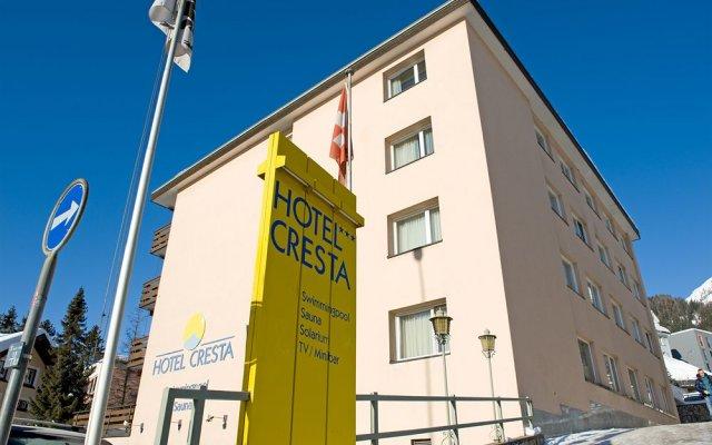 Отель Cresta Швейцария, Давос - отзывы, цены и фото номеров - забронировать отель Cresta онлайн вид на фасад