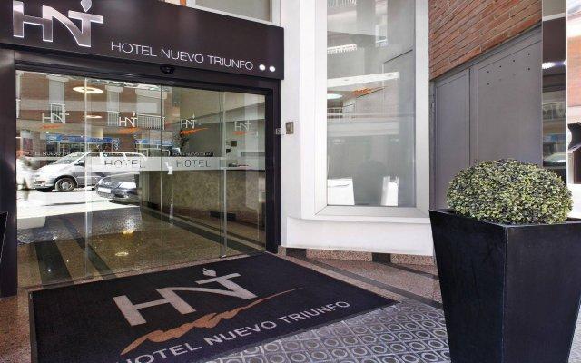 Hotel Nuevo Triunfo вид на фасад