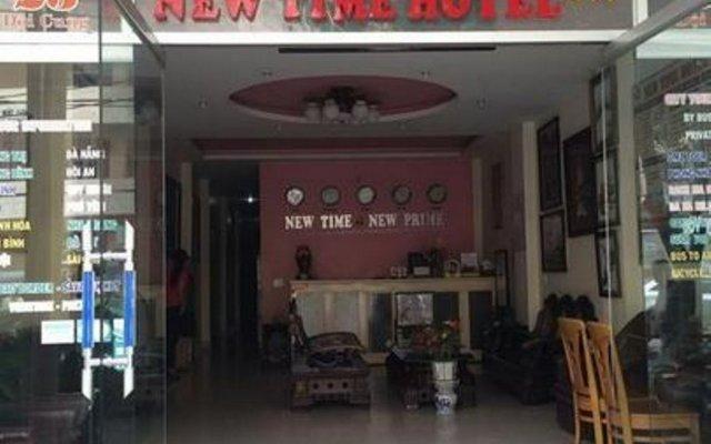 New Time Hotel вид на фасад