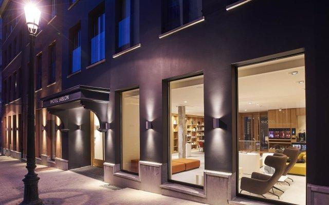 Отель 9Hotel Sablon Бельгия, Брюссель - отзывы, цены и фото номеров - забронировать отель 9Hotel Sablon онлайн вид на фасад