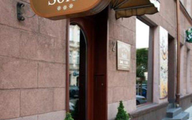 Отель Rezydencja Solei Польша, Познань - отзывы, цены и фото номеров - забронировать отель Rezydencja Solei онлайн вид на фасад
