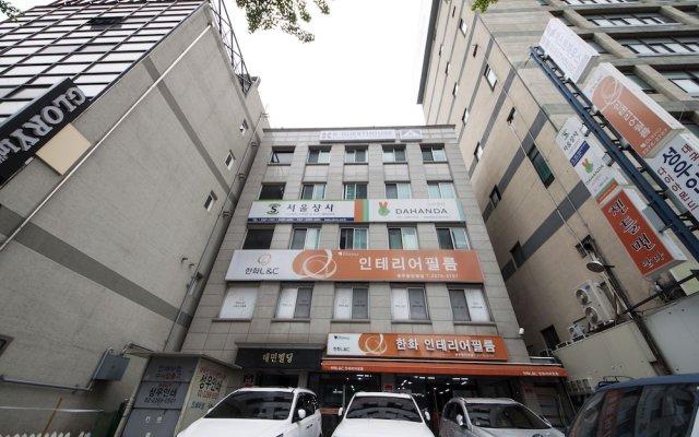 Отель K-Guesthouse Dongdaemun 1 Южная Корея, Сеул - отзывы, цены и фото номеров - забронировать отель K-Guesthouse Dongdaemun 1 онлайн вид на фасад