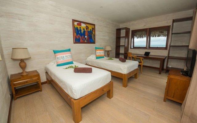 Отель Villa Bora Bora Lagoon Французская Полинезия, Бора-Бора - отзывы, цены и фото номеров - забронировать отель Villa Bora Bora Lagoon онлайн комната для гостей