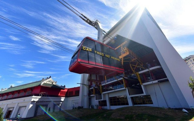 Nga Trang Hotel вид на фасад