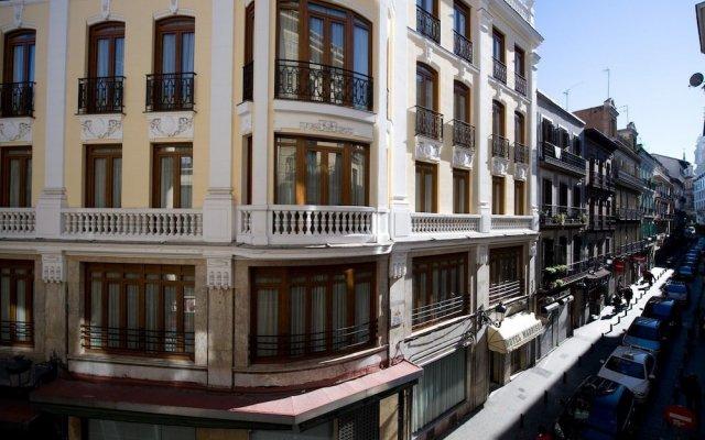 Hotel Madrisol вид на фасад