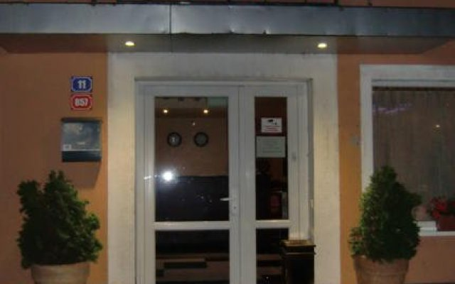 Hotel Penzion Praga вид на фасад