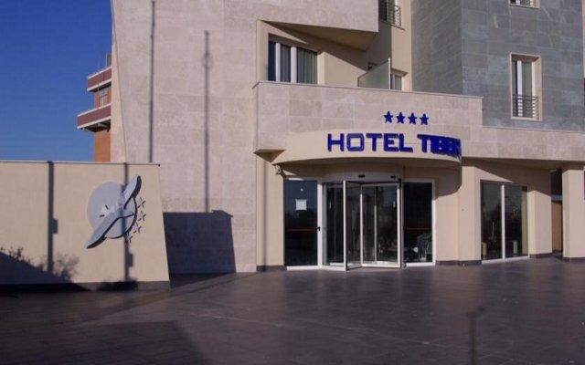 Hotel Tiber вид на фасад