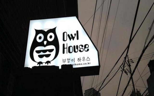 Owl Guesthouse - Hostel вид на фасад