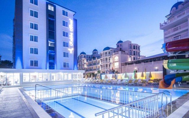Kolibri Hotel Турция, Аланья - отзывы, цены и фото номеров - забронировать отель Kolibri Hotel - All Inclusive онлайн вид на фасад