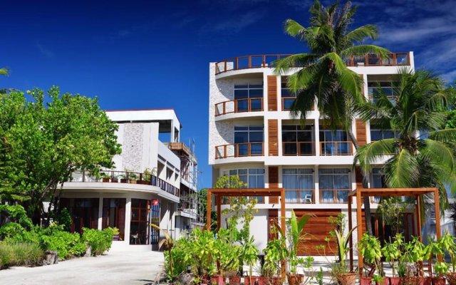 Отель Velana Blu вид на фасад