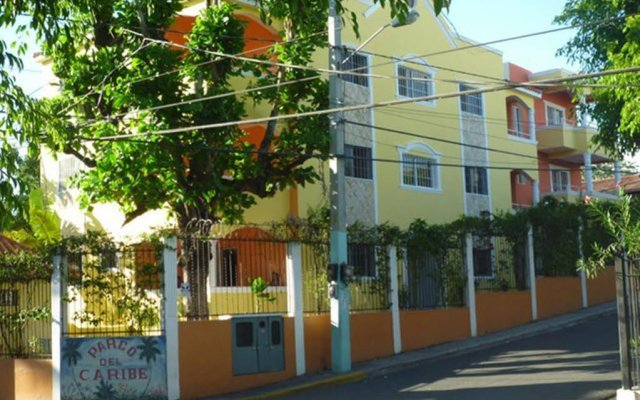 Отель Parco del Caribe вид на фасад