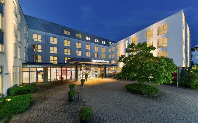 Отель NH München Ost Conference Center Германия, Ашхайм - отзывы, цены и фото номеров - забронировать отель NH München Ost Conference Center онлайн вид на фасад