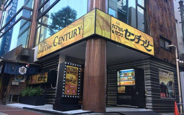 Отель Capsule and Sauna Century Япония, Токио - отзывы, цены и фото номеров - забронировать отель Capsule and Sauna Century онлайн вид на фасад