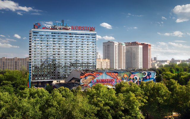 Гостиница Корстон, Москва в Москве - забронировать гостиницу Корстон, Москва, цены и фото номеров вид на фасад