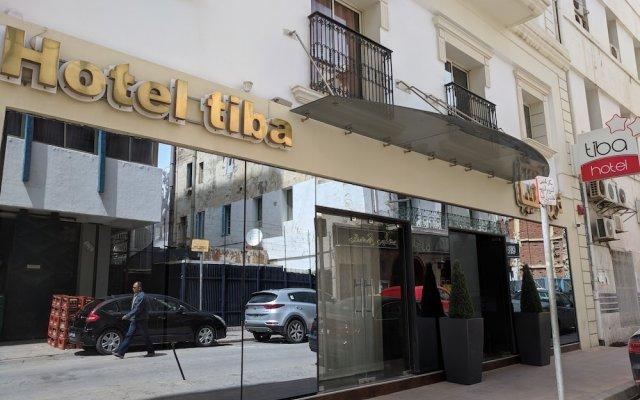 Hôtel Tiba in Tunis, Tunisia from 72$, photos, reviews - zenhotels.com hotel front