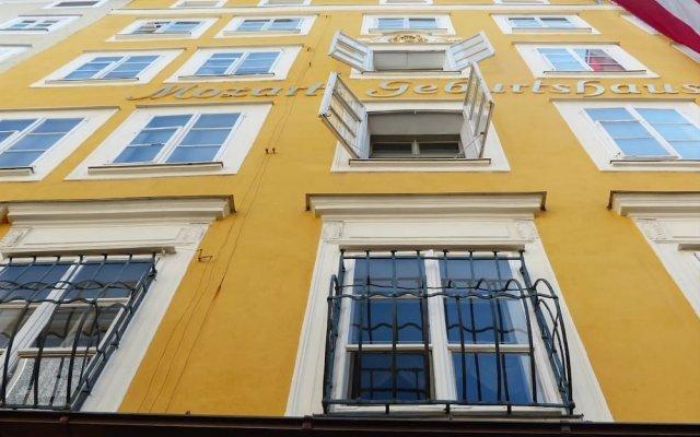Отель Jufa Salzburg City Зальцбург вид на фасад