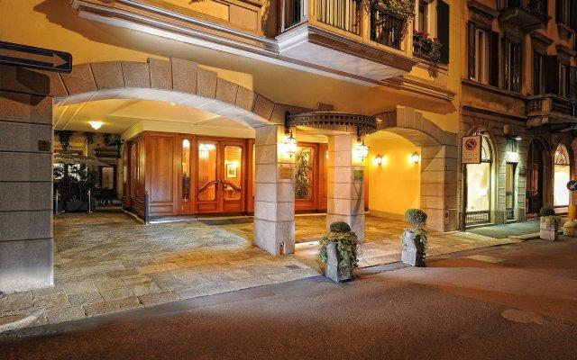Отель Manzoni Италия, Милан - 11 отзывов об отеле, цены и фото номеров - забронировать отель Manzoni онлайн вид на фасад