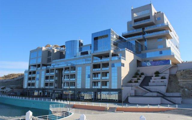 Гостиница Caspian Riviera Grand Palace Казахстан, Актау - отзывы, цены и фото номеров - забронировать гостиницу Caspian Riviera Grand Palace онлайн вид на фасад