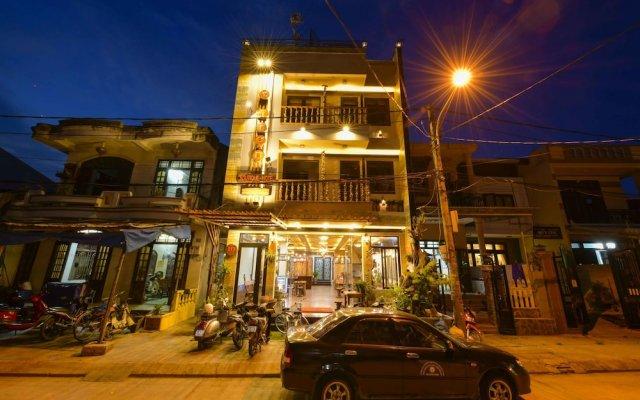 A Tran Boutique Hotel Хойан вид на фасад