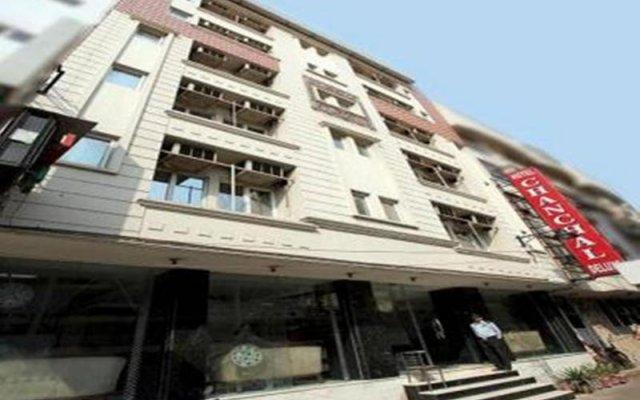 Отель Chanchal Deluxe Индия, Нью-Дели - отзывы, цены и фото номеров - забронировать отель Chanchal Deluxe онлайн вид на фасад