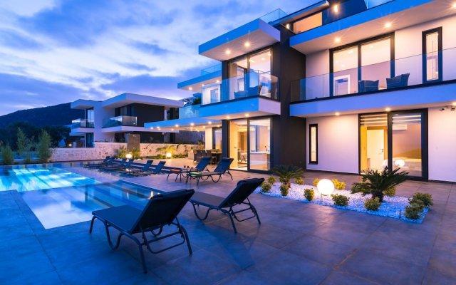 Villa Vogue by Akdenizvillam Турция, Калкан - отзывы, цены и фото номеров - забронировать отель Villa Vogue by Akdenizvillam онлайн вид на фасад