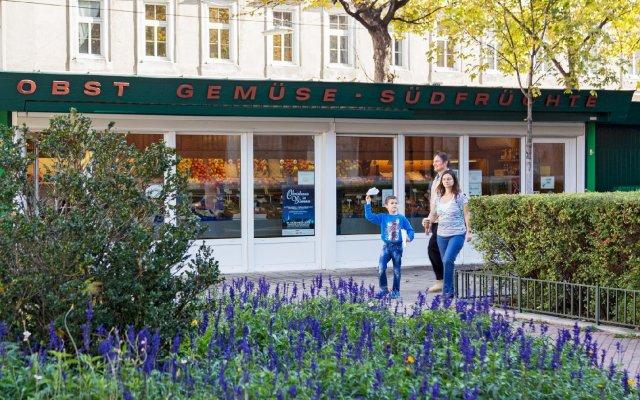 Отель Grätzlhotel Belvedere Австрия, Вена - отзывы, цены и фото номеров - забронировать отель Grätzlhotel Belvedere онлайн вид на фасад