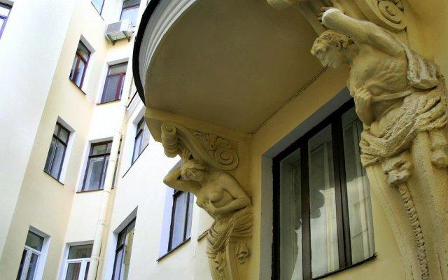Мини-Отель Капитель вид на фасад