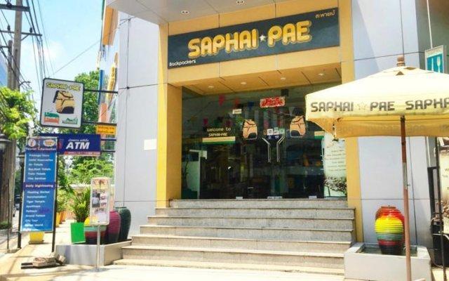 Saphaipae Hostel Бангкок вид на фасад