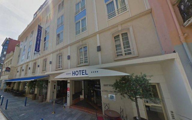 Отель BEST WESTERN Le Patio des Artistes Франция, Канны - 1 отзыв об отеле, цены и фото номеров - забронировать отель BEST WESTERN Le Patio des Artistes онлайн вид на фасад