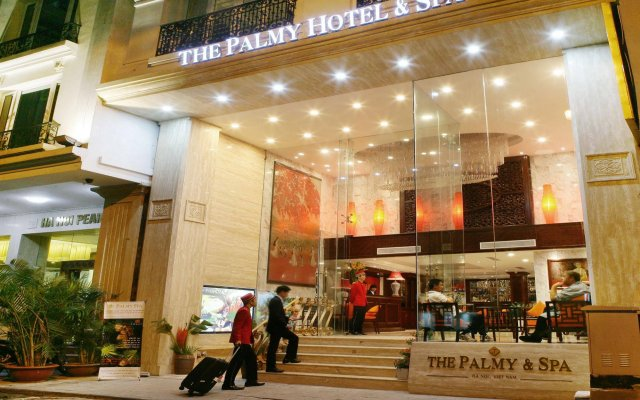 The Palmy Hotel & Spa вид на фасад
